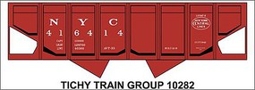 Tichy-Train HO NYC USRA Hop Panel Decal