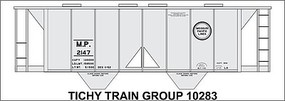 Tichy-Train N MP Covered Hopper Decal