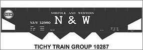 Tichy-Train HO N&W 4 Bay Steel Hop Decal