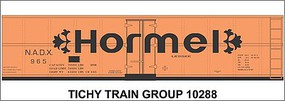 Tichy-Train HO Hormel 40Steel Reefr Decal