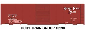 Tichy-Train N Nickel Plate 40 Bxcar Decal