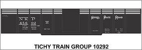 Tichy-Train HO Nickel Plt 416 Gondla Dec