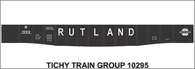 Tichy-Train HO Rutland 526 Gondola Decal