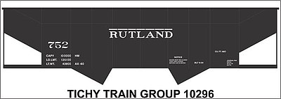 Tichy Train Group HO Rutland 2Bay Steel Hop Deca