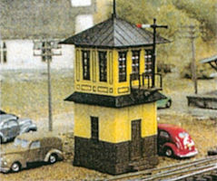 Tichy-Train Wooden signal tower kits (2) N Scale Model Railroad Building #26012