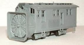 Rotary Snow Plow Kit N Scale Model Train Freight Car #2705