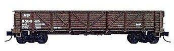 Tichy-Train Southern Pacific General Service Drop Bottom Gondola Kit N Scale Model Train Freight Car #2706
