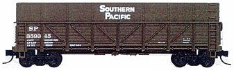 Tichy Train Group Southern Pacific Sugar Beet Gondola Kit -- N Scale Model Train Freight Car -- #2707