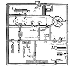 Tichy-Train Brake Gear Details - Westinghouse KC System HO Scale Miscellaneous Train Part #3005