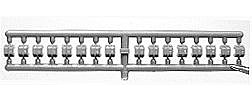 Tichy Train Group Stake Pockets (32) -- HO Scale Miscellaneous Train Part -- #3006