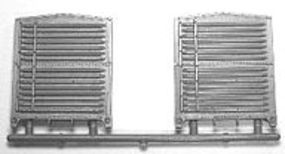 Tichy-Train 7/8 Steel Boxcar End (1 pair) HO Scale Model Train Part #3058