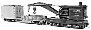 Tichy Train Group 40' Boom Car Kit -- HO Scale Model Train Freight Car Kit -- #4022