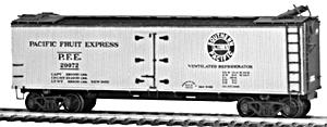 Tichy Train Group HO P.F.E. Wood Reefer Kit -- HO Scale Model Train Freight Car -- #4024