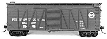Tichy-Train 40 Single Sheathed USRA Boxcar HO Scale Model Train Freight Car #1041