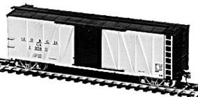 Tichy-Train USRA 40 Rebuilt Boxcar with Ribbed Steel Sides HO Scale Model Train Freight Car #40324