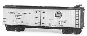 Tichy-Train Wood PFE Reefer Kits (6) HO Scale Model Train Freight Car Set #6024