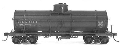 Tichy Train Group USRA Tank Car with 60'' Dome Kits (6) -- HO Scale Model Train Freight Car Set -- #6025