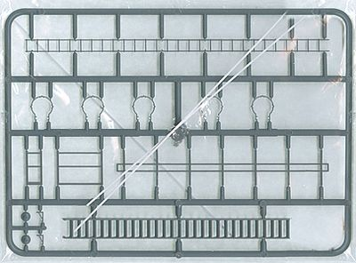 Tichy-Train Safety Cage Ladder & Staircase HO Scale Model Railroad Building Accessory #8002