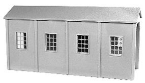 Tichy-Train Coal Shed HO Scale Model Railroad Building #8004