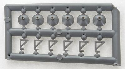 Tichy Train Group Light Fixtures (24) -- HO Scale Model Railroad Building Accessory -- #8170