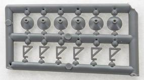 Tichy-Train Light Fixtures (24) HO Scale Model Railroad Building Accessory #8170