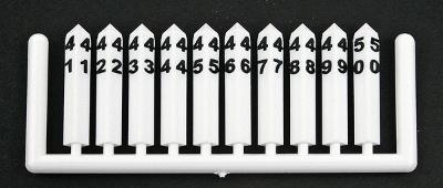 Tichy-Train Milepost Markers Post Numbers 1 to 50 HO Scale Model Railroad Road Accessory #8184