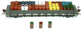 Tichy-Train 55-Gallon Drums Tops (96) HO Scale Model Railroad Building Accessory #8212