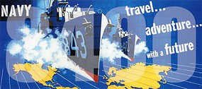 Tichy-Train HO Navy - Travel Adventure with a Future Vintage Billboard