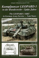 Tankograd Military Vehicle Special- Leopard 1 MBT in German Army Service Late Years