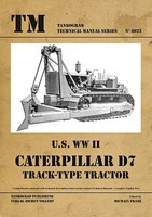 Tankograd Technical Manual- US WWII Caterpillar D7 Track-Type Tractor