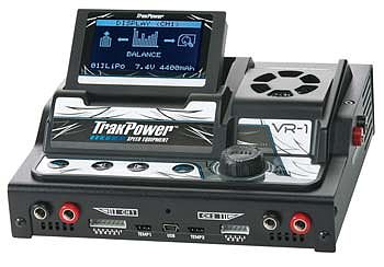 Trakpower VR1 DC Dual Channel Racing Charger w/Bal