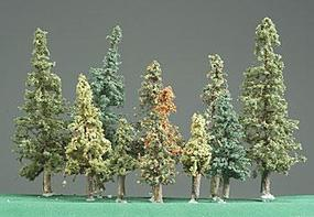 Timberline Pine Assortment Alpine Forest 1/2-6 (11) Model Railroad Tree #1190