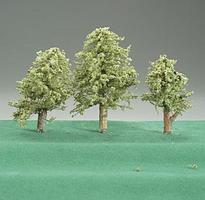 Timberline Spring Green Deciduous Trees 2 to 4 (3) Model Railroad Tree #204