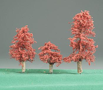 Timberline Indian Summer Deciduous Trees 2 to 4 (3) Model Railroad Tree #222