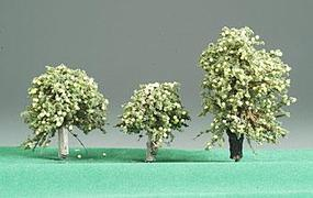 Timberline Lemon Deciduous Trees 3 to 5 (3) Model Railroad Tree #225