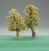 Timberline Orange Deciduous Trees 3'' to 5'' (2) Model Railroad Tree #229