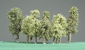 Timberline Deciduous Assortment 2-5 Summer Grove Trees (11) Model Railroad Tree #290