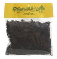 Timberline Dark Soil (Medium) Ground Cover Foliage Model Railroad Scenery #60365