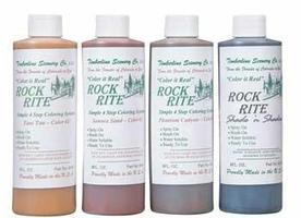 Timberline Rock Rite Paints (4) Model Railroad Scenery #8470