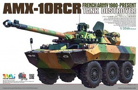 Tiger-Model AMX-10RCR Tank Destroyer French Army Plastic Model Military Vehicle Kit 1/35 Scale #4602