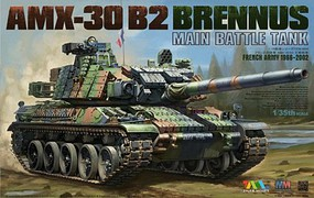 Tiger-Model 1/35 French AMX-30 B2 Brennus Main Battle Tank 1966-2006