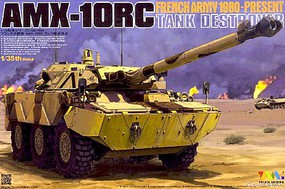 Tiger-Model AMX-10RC Tank Destroyer French Army Plastic Model Tank Kit 1/35 Scale #4609