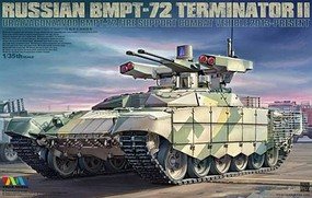 Tiger-Model 1/35 Russian BMPT72 Terminator II Fire Support Combat Vehicle 2013-Present