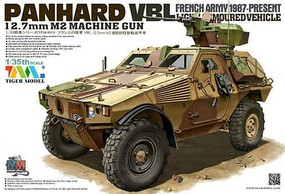 Tiger-Model Panhard VBL Light Armored Vehicle French Army Plastic Model Military Vehicle Kit 1/35 #4619