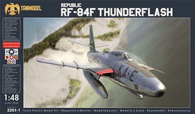 Tanmodel 1/48 Republic RF84F Thunderflash USAF Photo-Recon Version Fighter