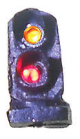Tomar 2-Light Dwarf LED Signal Green Over Red N Scale Model Railroad Trackside Accessory #5847