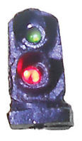 Tomar 2 Light Dwarf Signal Green & Red N Scale Model Railroad Operating Accessory #5852