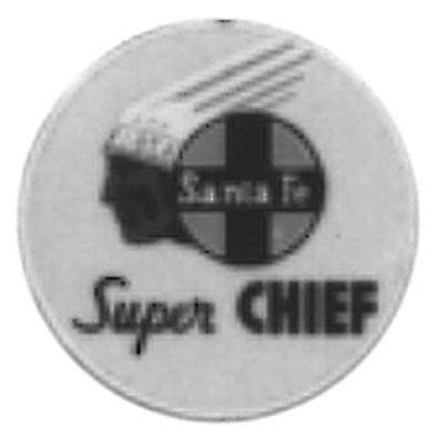Tomar Industries Lighted Drumhead Kit - Atchison, Topeka & Santa Fe -- Super Chief (Lightweight Round) - G-Scale