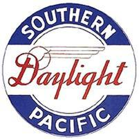 Tomar Drumhead Kit Southern Pacific Daylight Black & White HO Scale Model Railroad Lighting #936