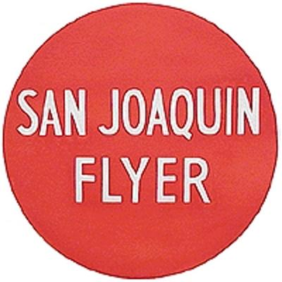 Tomar Industries Lighted Drumhead Kit - Southern Pacific -- San Joaquin Flyer (Heavyweight Round) - HO-Scale